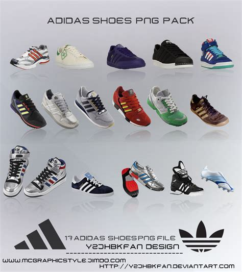 adidas shoes png pack by y2jhbkfan on deviantart