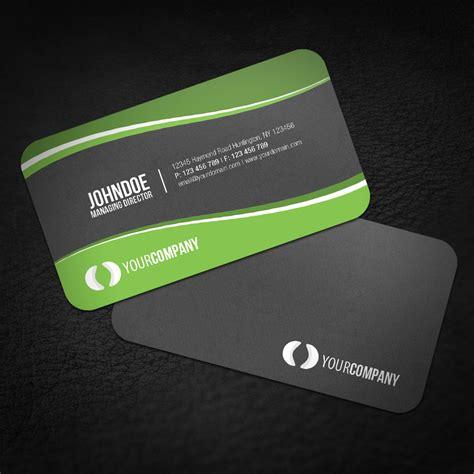 Rounded Corner Business Cards sleek rounded corner business card by glenngoh on deviantart