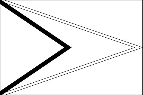 flag of guyana 2009 clipart etc