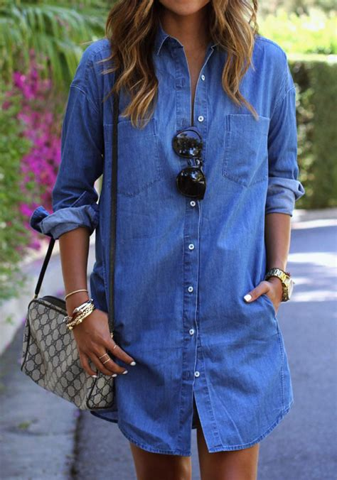 Sale Summer Denim Blouse wholesale fitted denim shirts all matched soft denim tops blouse sleeve