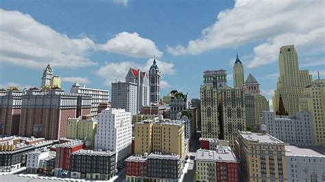mc bank city new york minecraft minecraft seeds pc xbox pe ps4