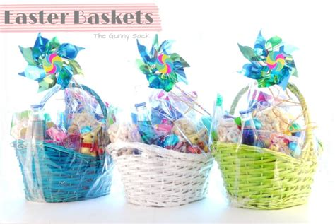 easter basket ideas kid s easter basket ideas the gunny sack