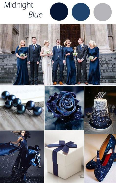 winter 2015 colors midnight blue winter wedding colors 2015 trends 2554956