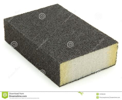 Sponge Block by Sanding Sponge Block Stock Photo Image 19785540