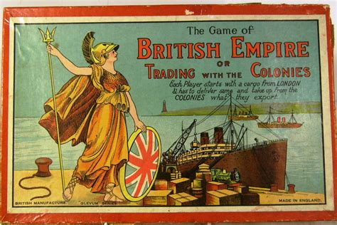 Beach Decorations For The Home by C1930 S Glevum British Empire Board Game Complete
