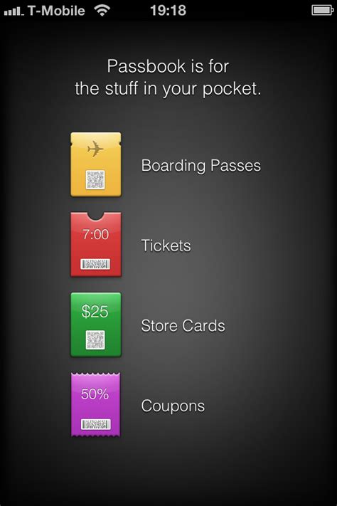 Apple Passbook Gift Card - apple s new passbook for ios 6 organizes tickets store cards more