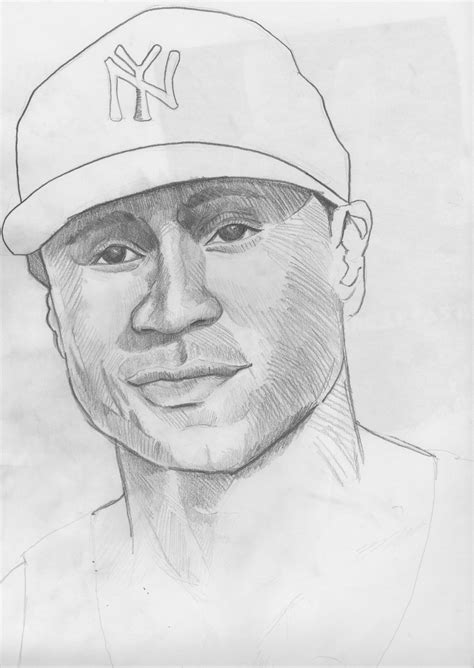 Drawing J by Ll Cool J Portrait Unfinished By Roxcoe On Deviantart