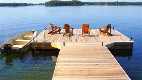 how to build a boat dock roof r j machine custom built docks in peterborough s