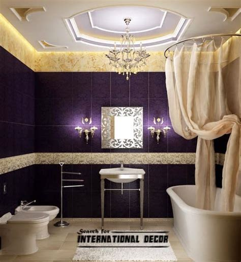 bathroom ceiling design ideas luxury italian bathroom false ceiling design led lights