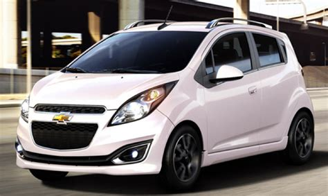 chevy spark colors techno pink to lemonade the many colors of the chevrolet
