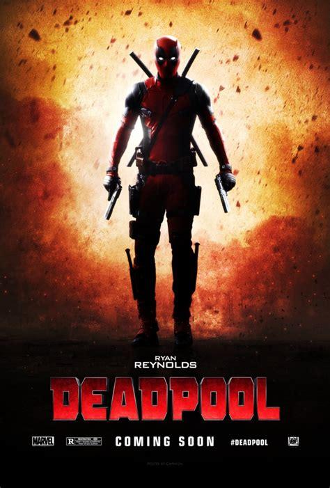 film marvel deadpool deadpool 2016 teaser poster by camw1n on deviantart