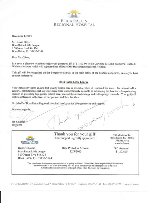 Donation Letter For Youth Baseball Team Contact Caroline Linden At Volunteers Bocalittleleague