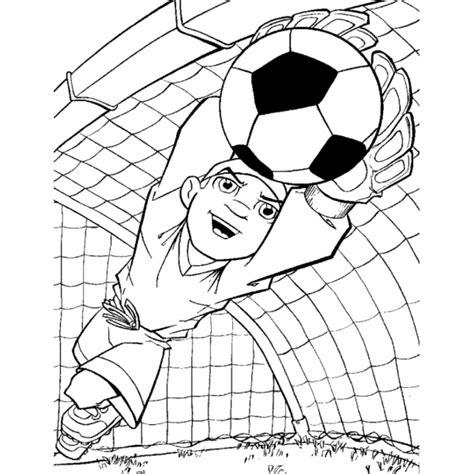 giochi gratis di calcio portiere disegno di portiere di calcio da colorare per bambini