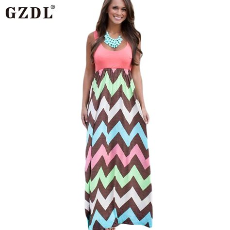 womens grace lace chevron casual sun maxi long dress 0 4 women lady sleeveless striped print casual loose tunic