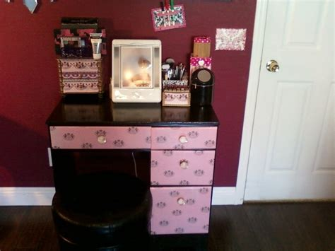 How To Build A Vanity Desk by Makeup Vanity Table With Mirror Designwalls