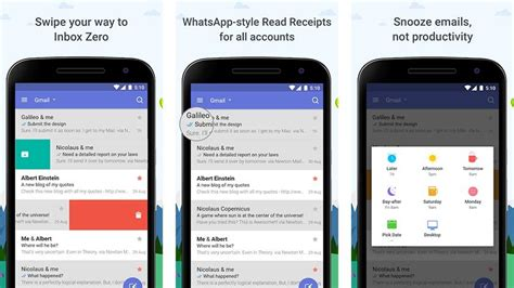 best android exchange email app 10 best email apps for android android authority