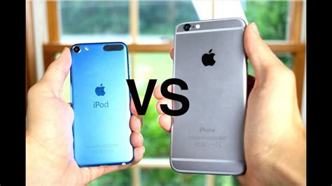 V Iphone 6 Ipod Touch 6th Generation Vs Iphone 6