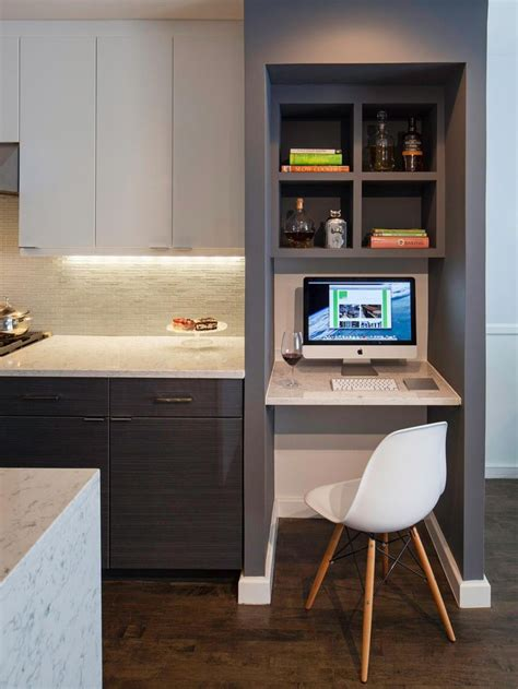 25 best ideas about computer nook on desk