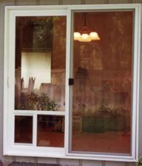patio doors with built in pet door pet doors installation replacement and repair