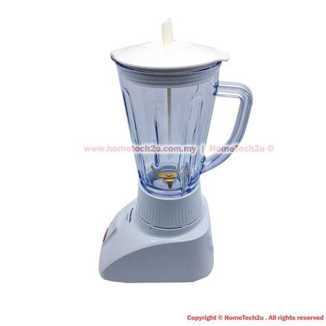 Blender Panasonic Malaysia panasonic blender with mill with titanium micro