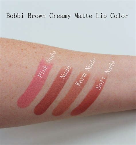 matte lip color swatches brown matte lip color swatches the of