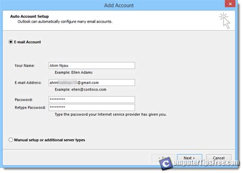 verizon net email settings android how to setup outlook 2013 with verizon email html autos weblog
