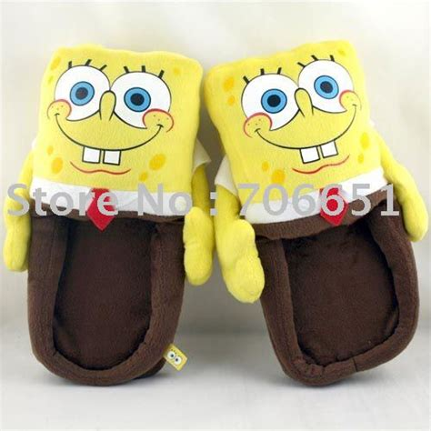 spongebob house shoes free shipping spongebob slipper cartoon shoes mix order drop shipping052024 in