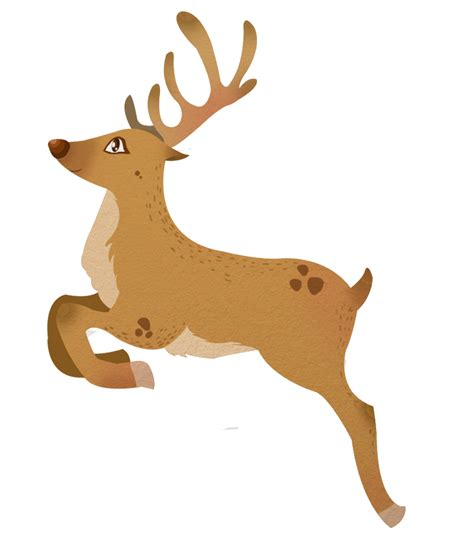 reindeer clip clipart reindeer pencil and in color clipart