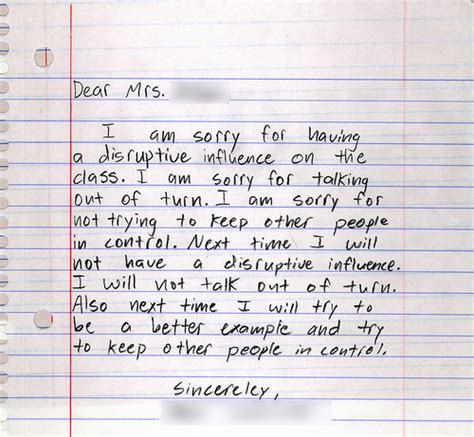 Apology Letter To Friends Parents Michael S Free Apology Letters