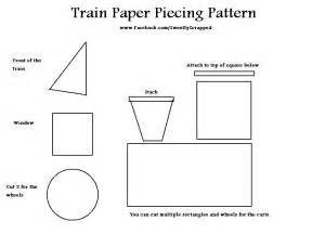 sweetly scrapped freebie friday train paper piecing pattern
