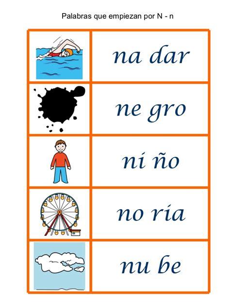 imagenes que comiencen con la letra n palabras que empiezan por 5 en una hoja para loat p t m r