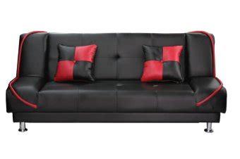 meganto sofa bed topas warna hitam merah lazada indonesia