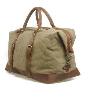 vintage handmade antique leather travel bag tote messenger