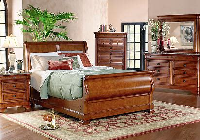 cindy crawford home savannah sleigh 5 pc queen bedroom