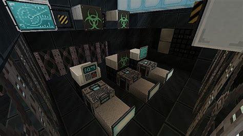 bridge emergency room spaceship ligerator minecraft project