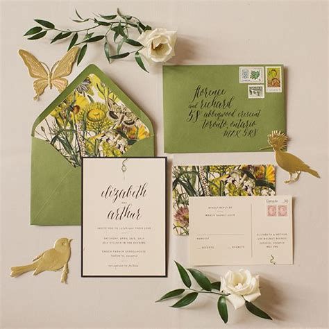 Paper And Poste Wedding Invitations