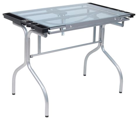 modern drafting table folding craft station modern drafting tables by