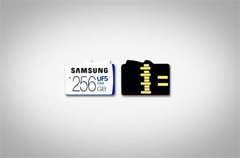 Memory Card Samsung 256gb samsung unveils world s universal flash storage ufs 256gb memory card industry leaders