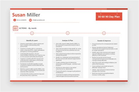 28 90 day business plan template for interview 5 30