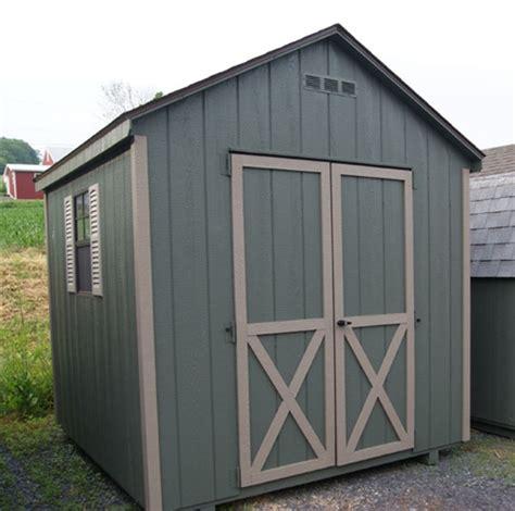 frame wood shed kit