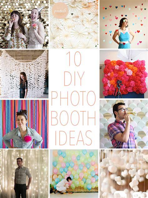 10 diy ideas for how 10 diy photo booth ideas