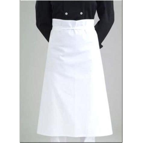 tablier cuisine professionnel tablier cuisine roi du tablier blanc trousseau