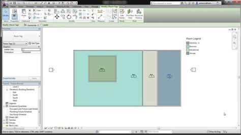 revit tutorial color scheme the revit kid saubim presentation floor plans room