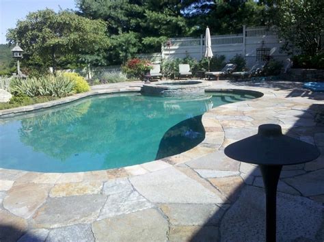 stone pool deck stone pool decks interior design ideas