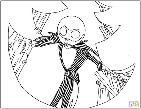 coloring pages the nightmare before christmas jack skellington from nightmare before christmas coloring