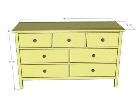 Build Your Own Dresser free build your own dresser plans woodworking projects plans