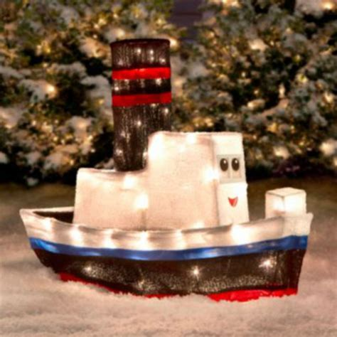 toy boat decoration rudolph misfit toys 3d boat outdoor christmastinsel