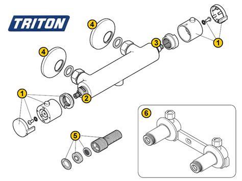 Triton Sema Shower by Triton Sema Mk1 Shower Spares And Parts Triton Sema