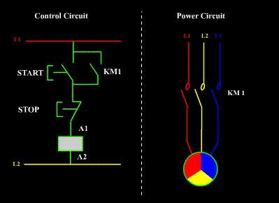 mem dol starter wiring diagram
