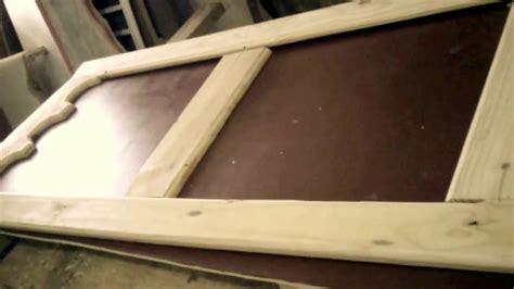como hacer puerta de madera como hacer puerta despensa de cocina youtube
